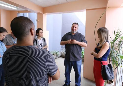 Visita técnica para verificar infraestrutura, equipe de atendimento e os serviços prestados no CRAS Senhor dos Passos e CRAS Pedreira Prado Lopes - Comissão de Direitos Humanos e Defesa do Consumidor