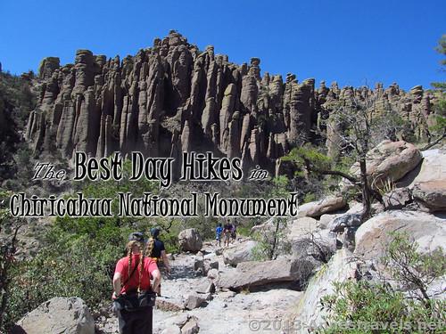 Hiking up the Echo Canyon Trail in Chiricahua National Monument, Arizona