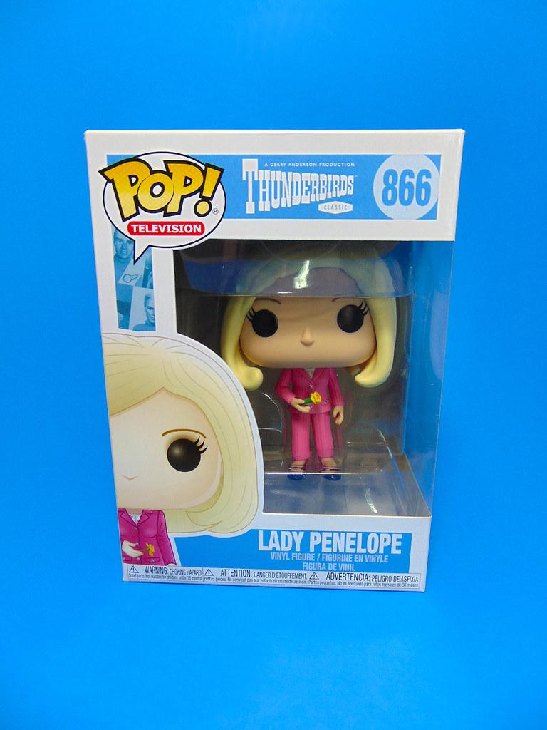 FUNKO Thunderbirds-Lady Penelope 866 POP Figura De Vinilo