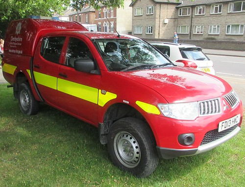 Derbyshire Fire & Rescue Service (FD13 HWC)