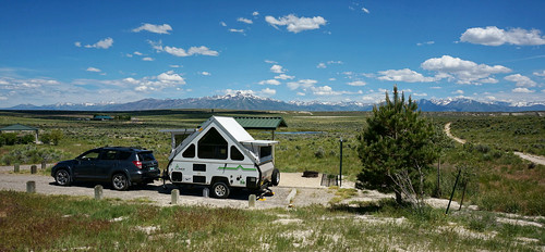nevada southforkcampground rubymountains southfork background campsite showers camping ravi aliner sl2019