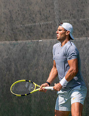 Nadal return split