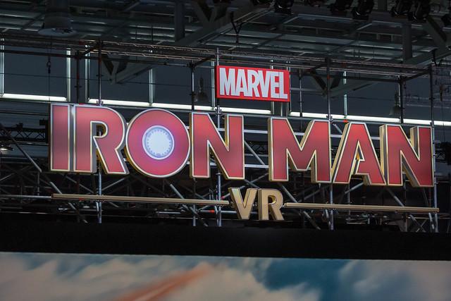 Marvel Iron Man VR - Schriftzug