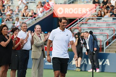 Rogers Cup 40th Anniversary Photos with Nadal