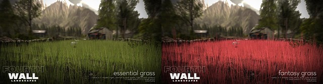 Fourth Wall / Essential + Fantasy Grass / Fifty Linden Friday