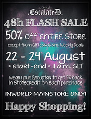 .EscalateD. | 48h FLASH SALE