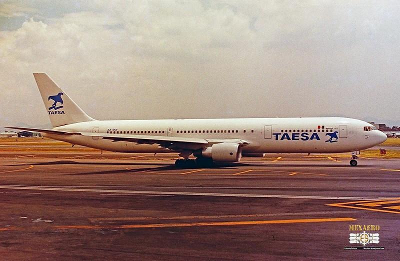 TAESA / Boeing 767-3Y0(ER) / XA-SKY
