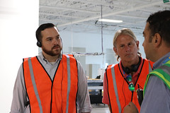 Reps. Zawistowski, Davis and Sen. Witkos toured the Amazon Fulfilment Center in Windsor on August 22nd.