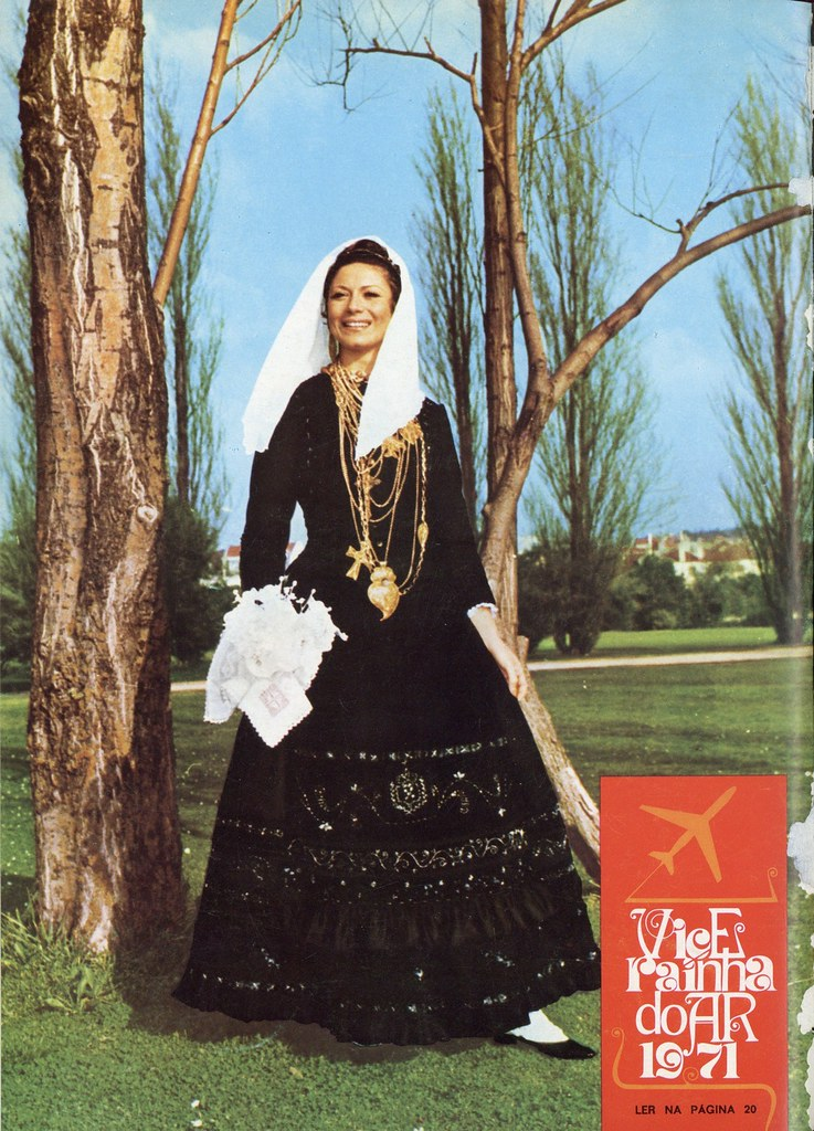 Vice-Rainha do Ar 1971 (Inter TAP, n.º 32, 1.º Trim. 1971)