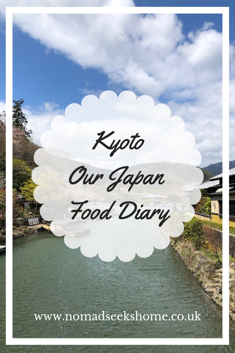 Kyoto: Our Japan Food Diary