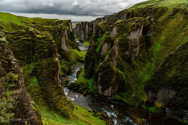 Fjaðrárgljúfur Canyon (Iceland)