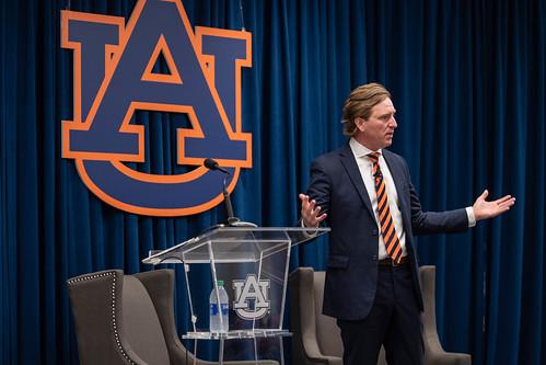 Chris Krebs at Auburn University