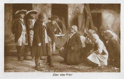 Otto Gebühr in Der alte Fritz