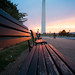 NATIONAL MALL SUNSET