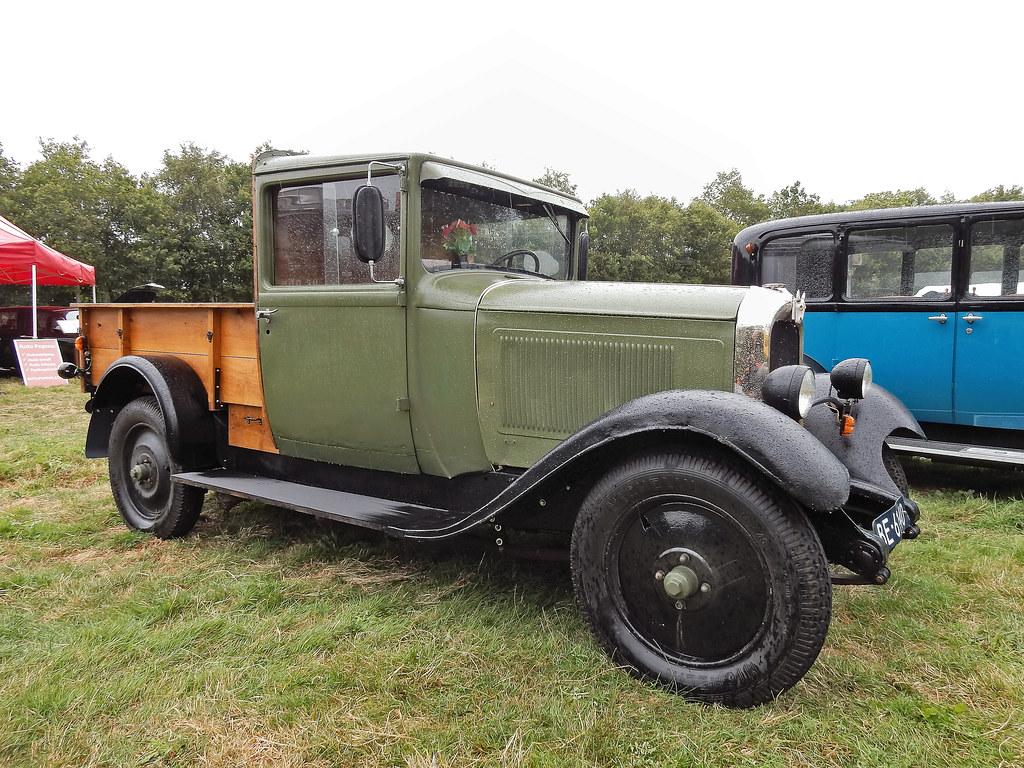 Citroën C41X Plateau Ridelles 1933 (N4052)
