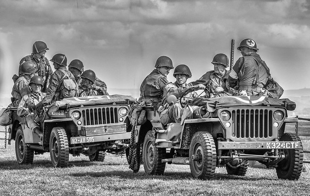 U.S.Army -  WW2 Re-enactment.