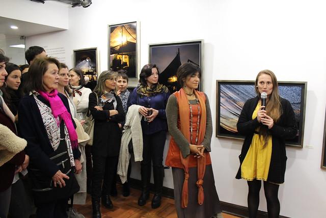 """Inauguración expo """"Habitar en Tránsito"""" en Sala Cable al Arte"""