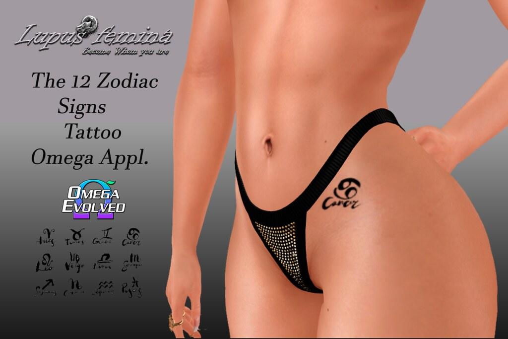 """Lupus Femina"" Zodiac Signs – Omega Appl."