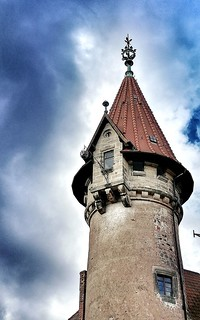 The Tower of Castle Heldburg