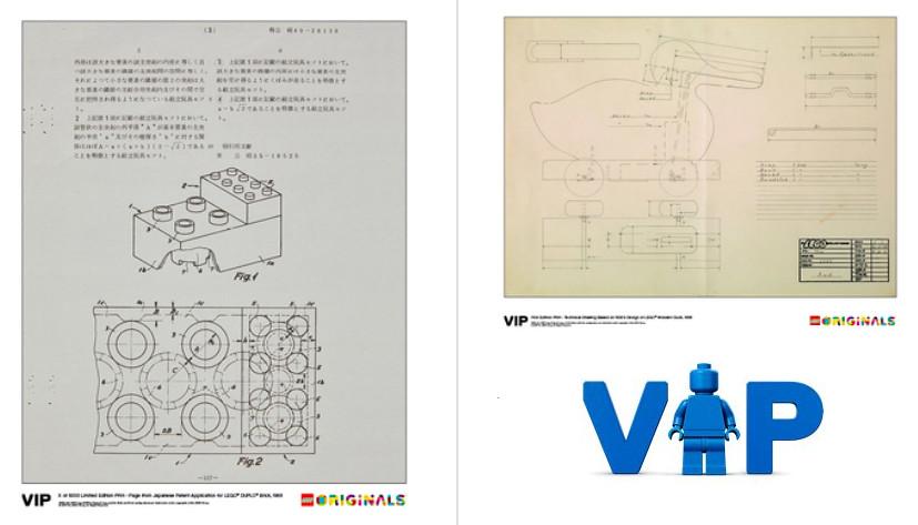 LEGO VIP Originals Prints