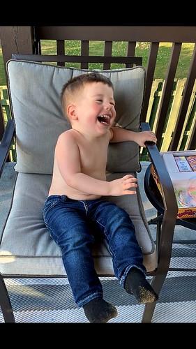 A laugh aloud moment!