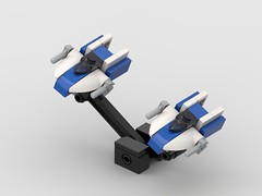 Micro A-wing patrol
