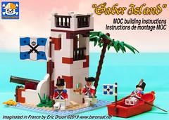Lego Modern Saber Island 6265