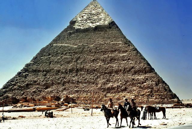 Exploring the pyramides