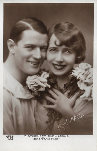 Mistinguett and Earl Leslie in Paris Miss