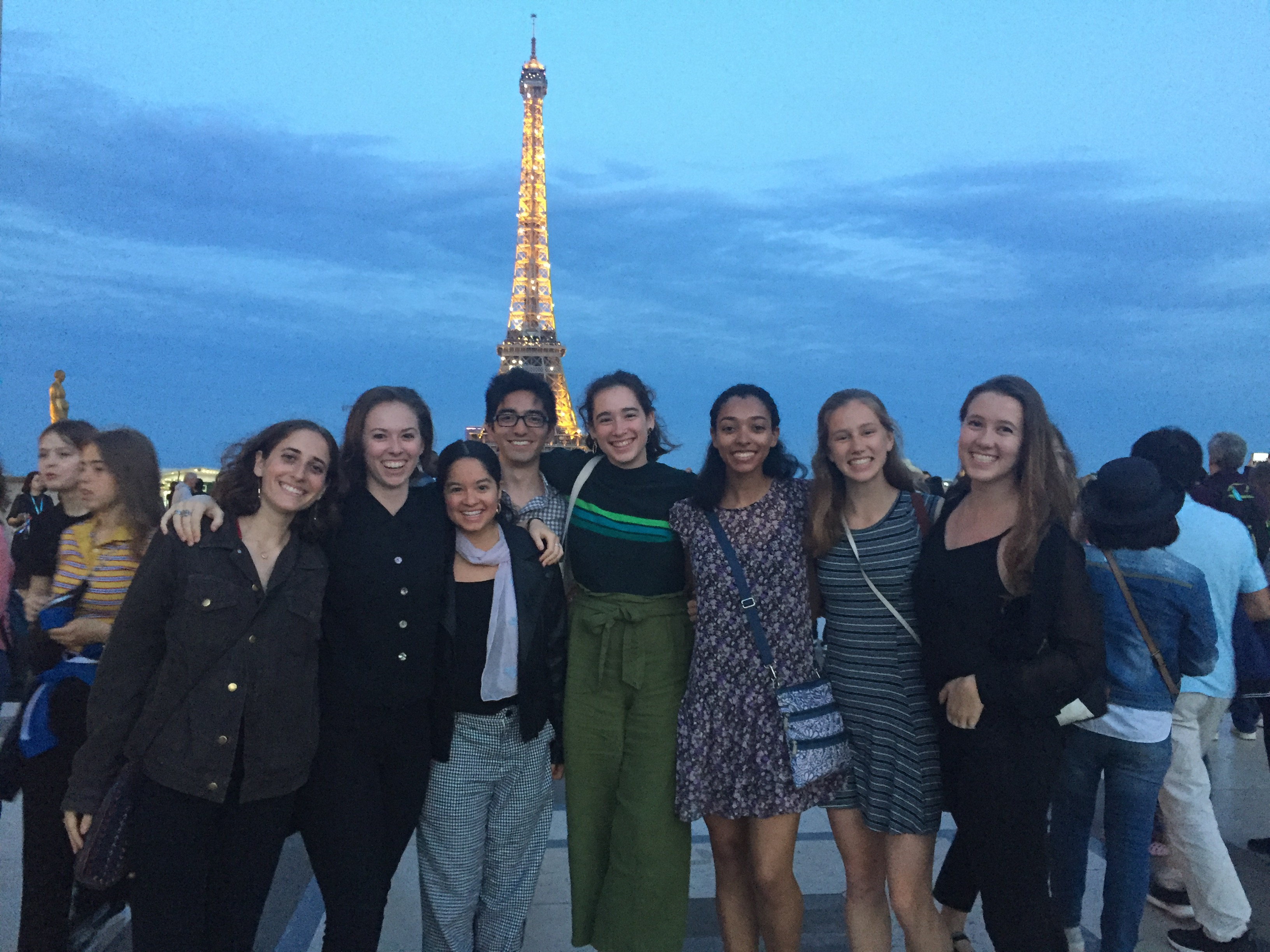 Barnard Dance in Paris, 2019