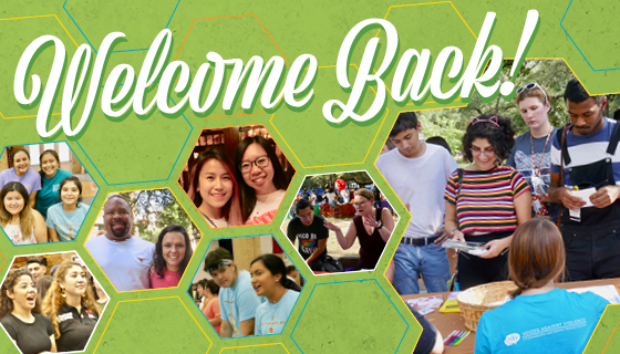 Welcome Back! banner