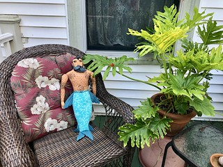 Tropical Merman