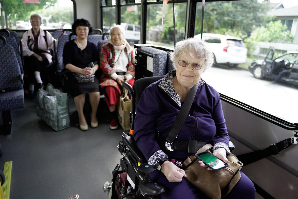 The Ministry of Health is supporting improved transportation for seniors to help them maintain meaningful social connections and independence in their local communities.