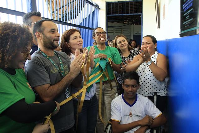 22.08.19 Entrega da primeira escola municipal ribeirinha com acessibilidade  (50)