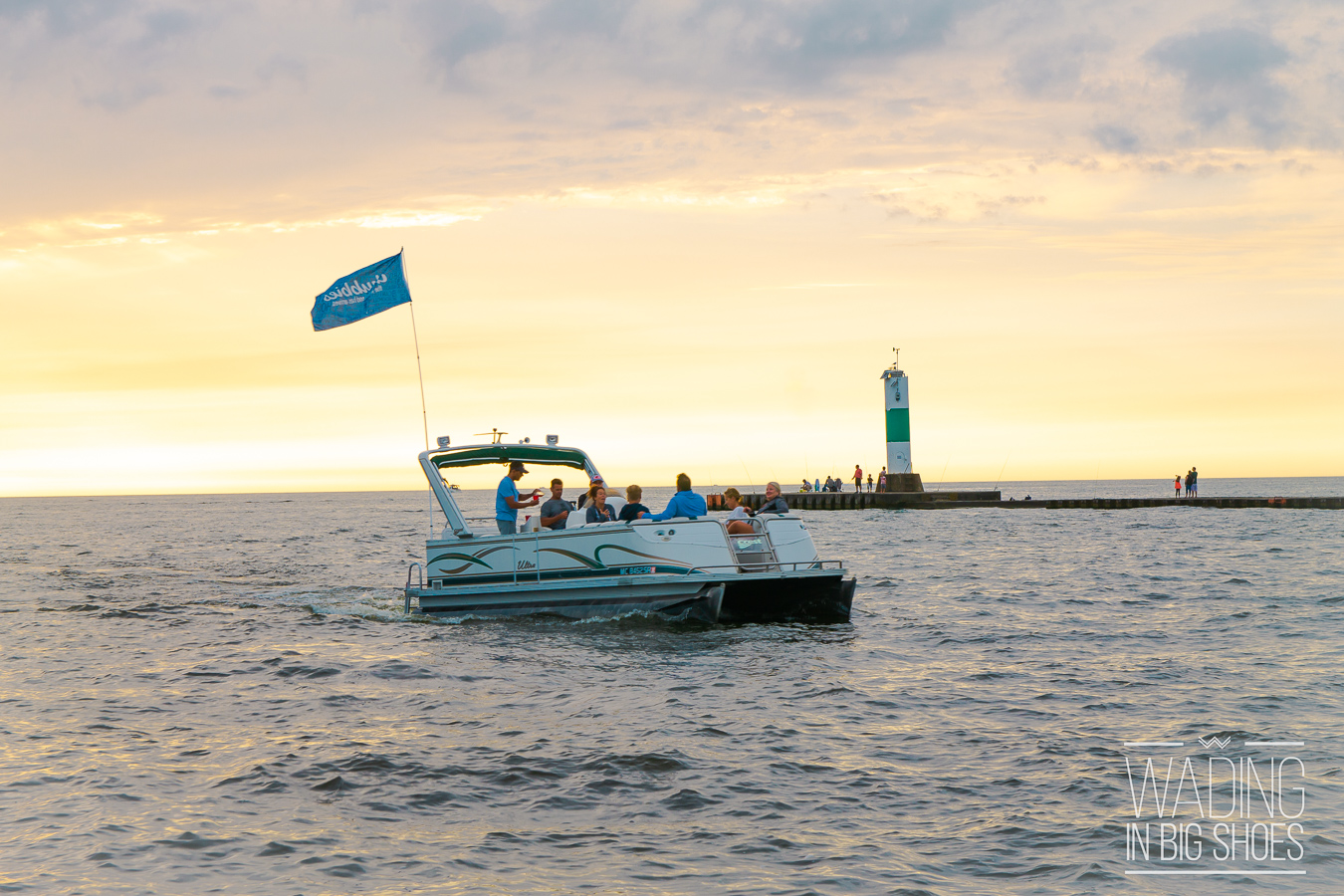 Wading in Big Shoes - Our 12-Hour Grand Haven Day Trip: Beaches, Eats, & Sunsets