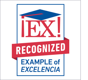 Example of Excelencia graphic