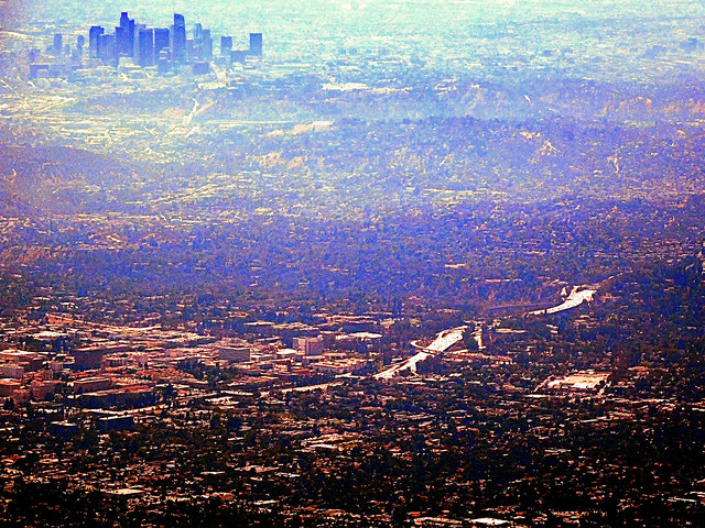 Downtown Los Angeles from Mount Wilson