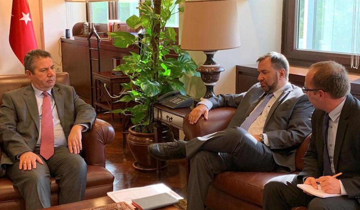 Viceministro Yván Gil sostiene reuniones en Turquía a fin de fortalecer proyectos bilaterales