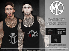 Misschevious - Naughty Mens Vest Vendor