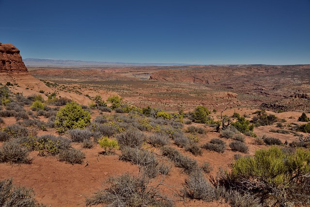 A Look to Where I Was Earlier in the Day... (Arches National Park)