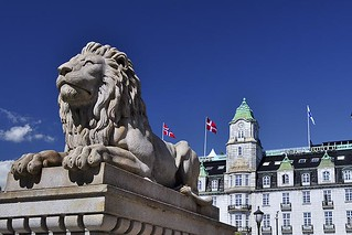 A Lion and a Hotel