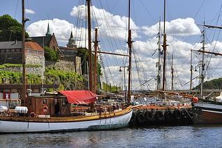 Masts on Oslo Fjord