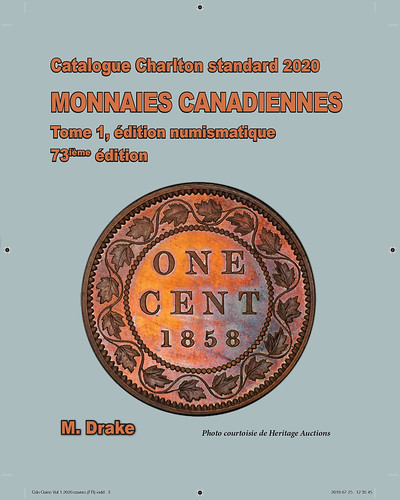 2020-CharltonCanadianCoinsVol1_French cover