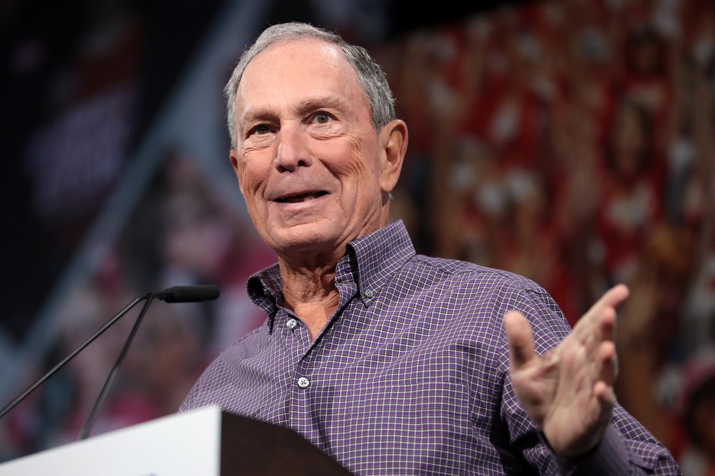 Michael Bloomberg | Former Mayor Michael Bloomberg speaking … | Flickr