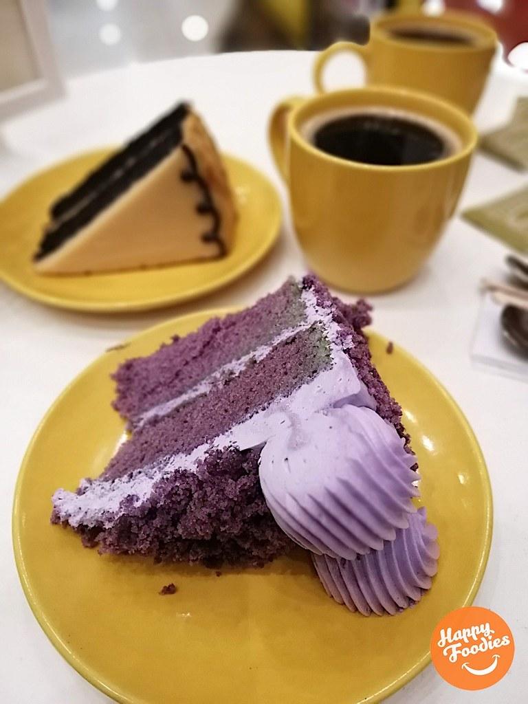 Ubae-be Cake (P95 - slice / P850 - whole)