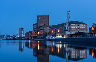 Hafen Stimmung um 6 Uhr