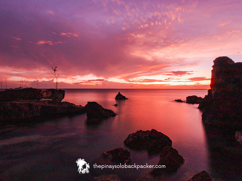 guimaras island sunset
