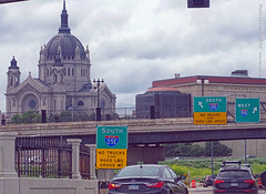 Ramps to I-35E & I-94 in St. Paul, 17 July 2019