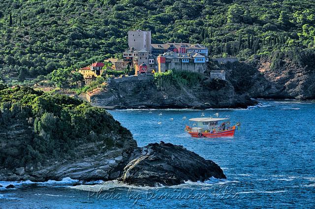 Ιερά Μονή Παντοκράτορος Αγίου Όρους       Pantokratoros Monastery Holy Mount Athos