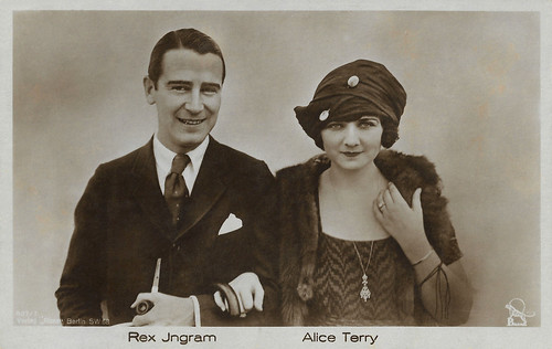Rex Ingram and Alice Terry
